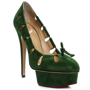 *AVAILABLE* CHARLOTTE OLYMPIA platform heels 38.5